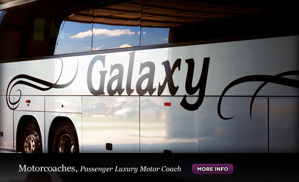 Galaxy Limo, Motorcoaches